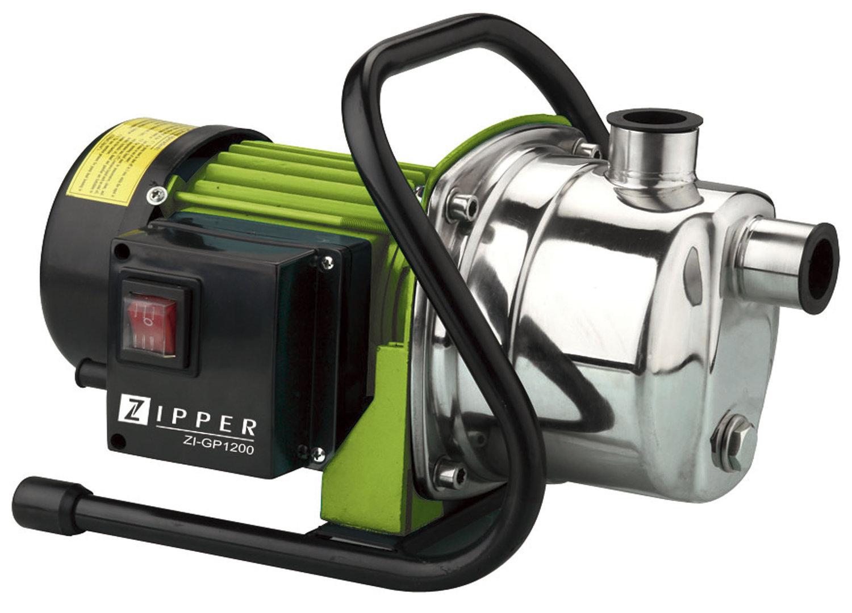 bomba de riego para jardin zipper zi gp1200