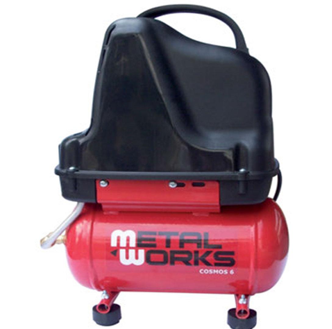 Compresor de aire 1 5 cv 6 litros metalworks cosmos 6 - Compresor 6 litros ...
