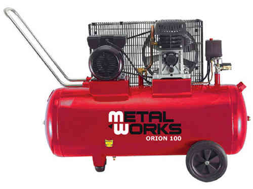 Air compressor 3 cv. 100 liter Metalworks Orion 100
