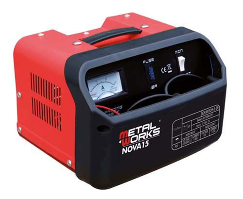 Battery Charger 12v / 24v Metalworks Nova 15