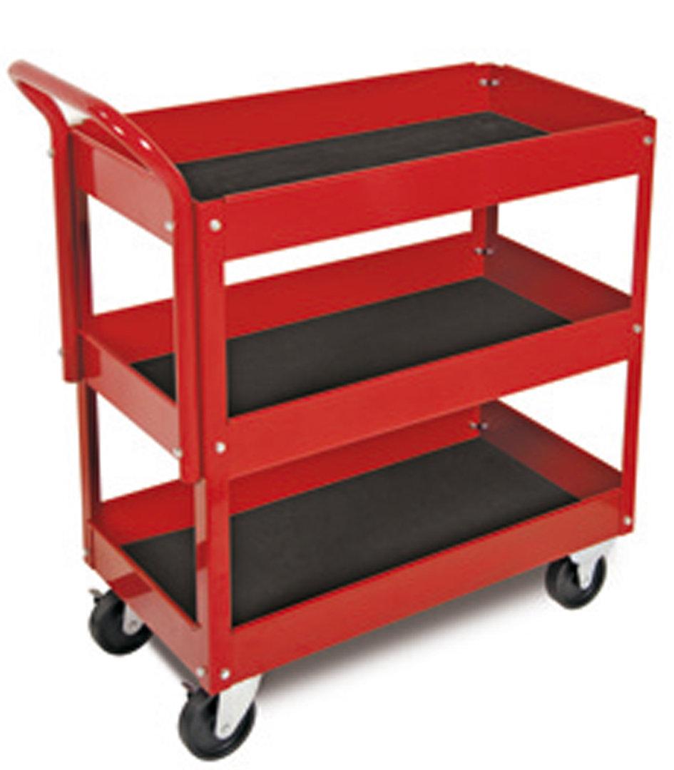 Carro herramientas taller 3 bandejas con ruedas - Carro herramientas taller ...