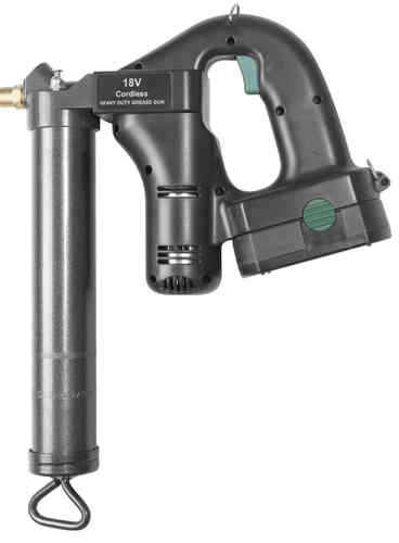 Battery grease gun 500c.c. 18V