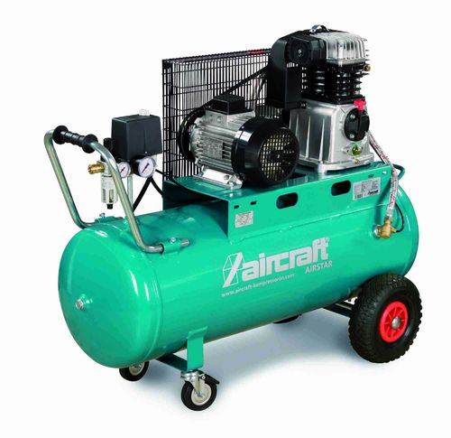 Air Compressor 4 cv. 100 Liters Aircraft Airstar 503/100