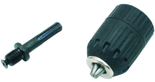 "fast drill chuck 1/2 ""h. 13 mm with sds plus adapter"