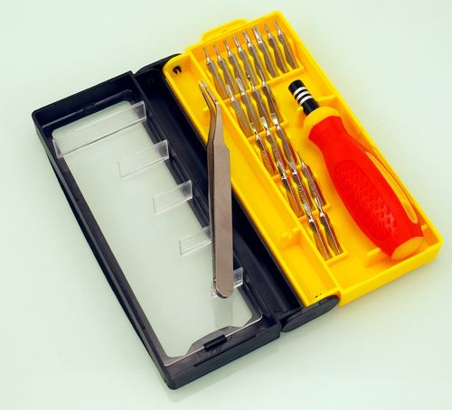 screwdriver kit and precision tips mobile phone 22 in 1