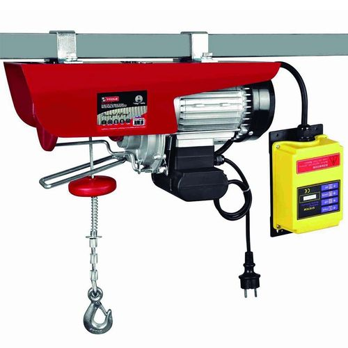 Electric hoist with remote control 230v 1600w 1000 kg.