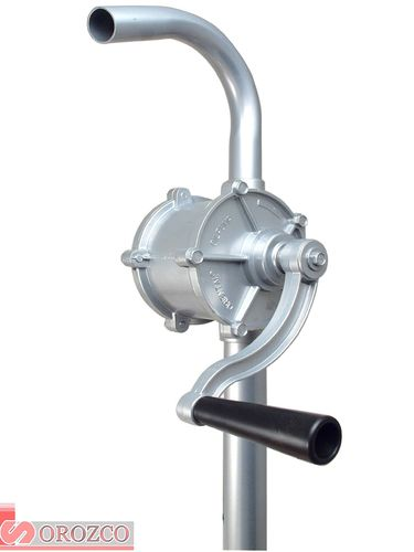 Manual Rotary Transfer Pump in Aluminum for Drum